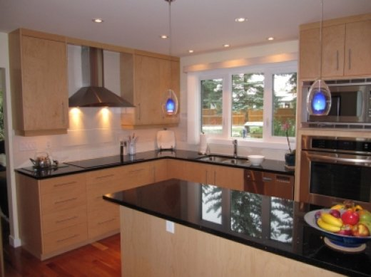 A spacious kitchen renovation performed by Refine Renovations