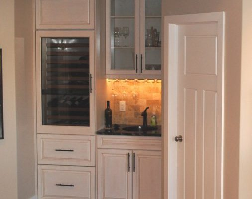 Kitchen built-ins installed by Refine Renovations