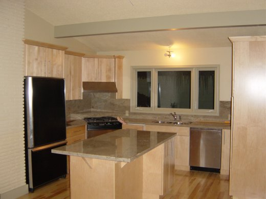 A complete kitchen renovation performed by Refine Renovations