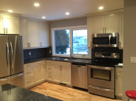 New kitchen renovation by Refine Renovations