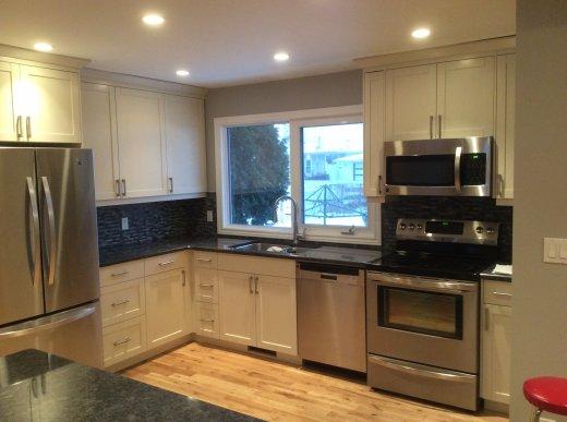 New kitchen renovation by Refine Renovations